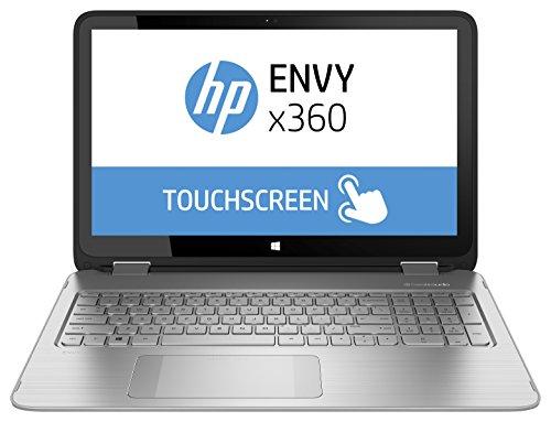 HP L0N28EA#ABD Envy x360 15-u200ng 39,6 cm (15,6 Zoll) Notebook (Intel Core-i5 5200U, 2,2GHz, 4GB RAM, 1TB HDD, Intel HD, Win 8, Touchscreen) silber