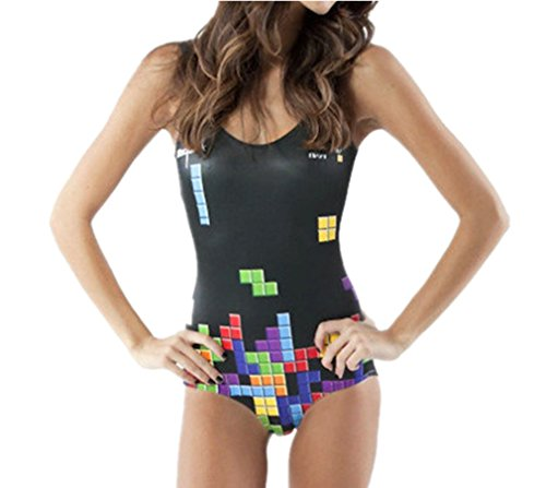 Tetris Retro Gamer Swimsuit