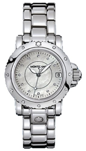 NEW MONTBLANC SPORT LADY QUARTZ WATCH 102362