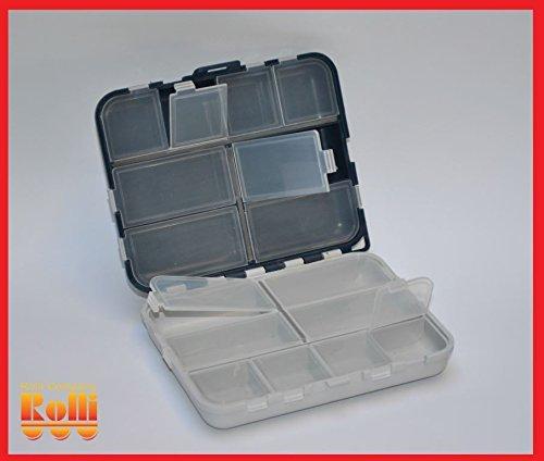 Scatola trasparente Portapillole Organizzatore Porta Pastiglie Gioielli 16 Scomparti 2416