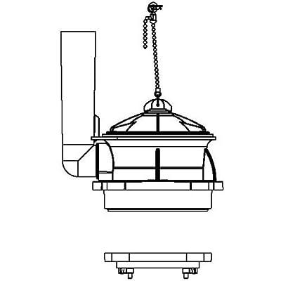 American Standard 3280.040-0070A Flusher Tower Part,