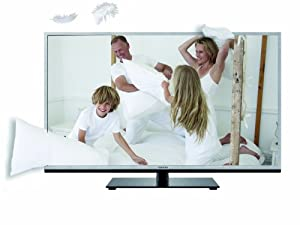 Toshiba 46TL963G 116,8 cm (46 Zoll) 3D LED-Backlight-Fernseher (Full-HD, 200Hz AMR, DVB-T/C/S2, CI+, DLNA, Web-TV) silber