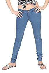 Carrel Bring In Stretchable Denim Fabric Denim Blue Colour Slim Fit Jeans For Womens