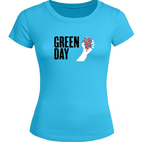 Pop Green Day For Ladies Womens T-shirt Tee Outlet