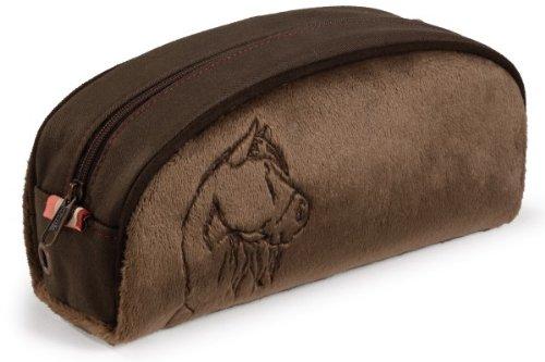 Imagen principal de Nici 32689 - Estuche de peluche, diseño de caballo color marrón