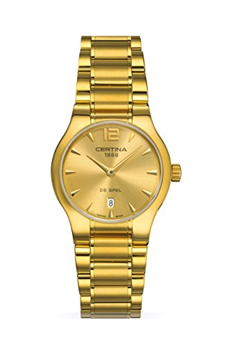 XS Analog Quartz Stainless Steel Ladies Wristwatch Certina C012 209.33.027.00.