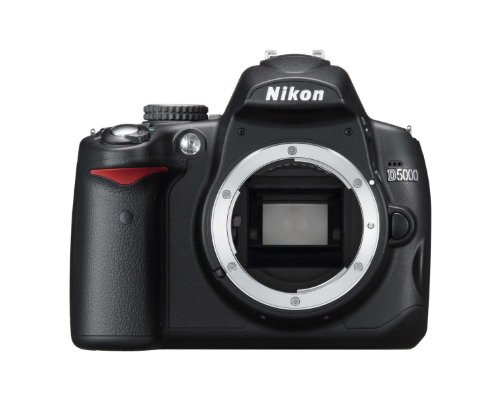 Nikon D5000 - Digital camera - SLR - 12.3 Mpix