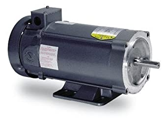 Baldor Cdp3445 56c Frame Tefc Dc Motor 1 Hp 1750 Rpm 3435p F1 90v Armature Voltage