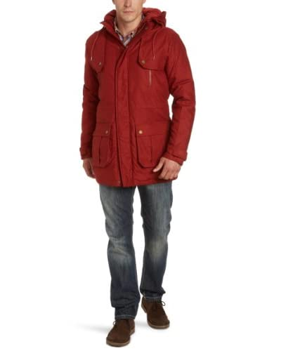 Selected Homme Jeans Trench Rojo