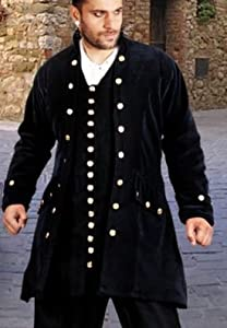 Captain De Lisle Pirate Coat (Size Small/Medium) by Patterns of Time