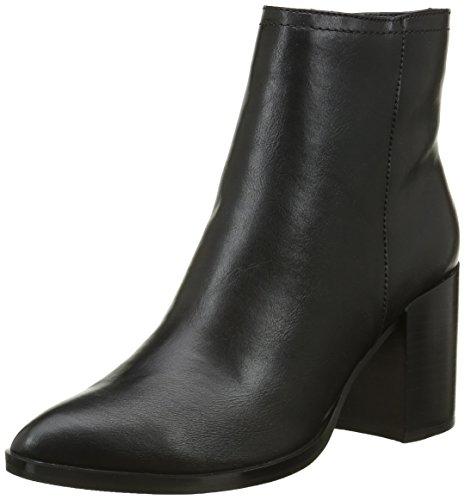 Buffalo Shoes B006A-58 P1735A Pu, Stivaletti Donna, Nero (Black 01), 39 EU