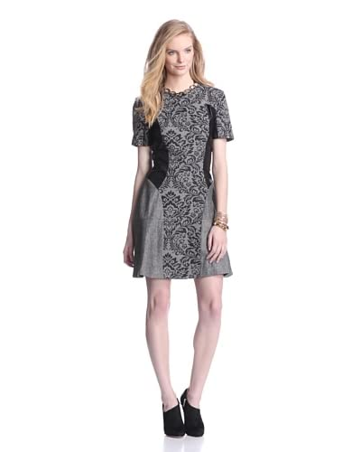 W118 by Walter Baker Women's Brooke Dress  [Black/White]