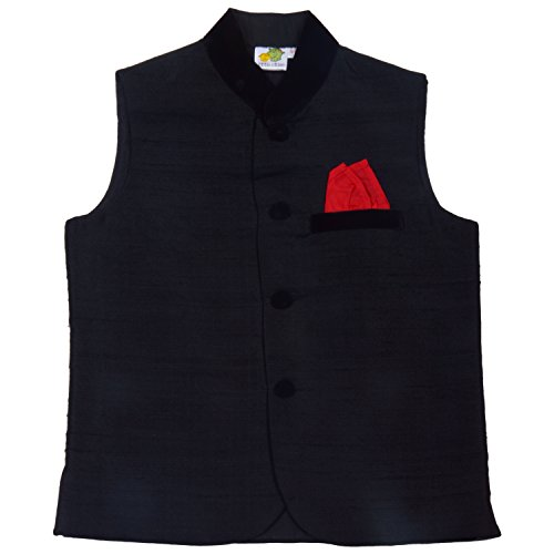 little stars Little Stars Nehru Jacket With Handkerchief For Kid