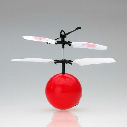 赤外線ヘリ FlyngBall フライングボール (レッド)
