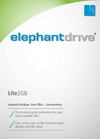 ElephantDrive for Windows (64 bit) - Lite Edition [Download]