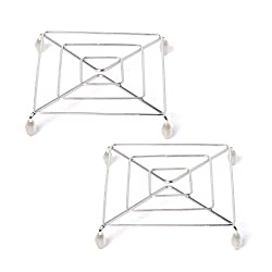Embassy Stainless Steel Trivet / Table Ring, Square, Size Big (16 cms) - Pack of 2