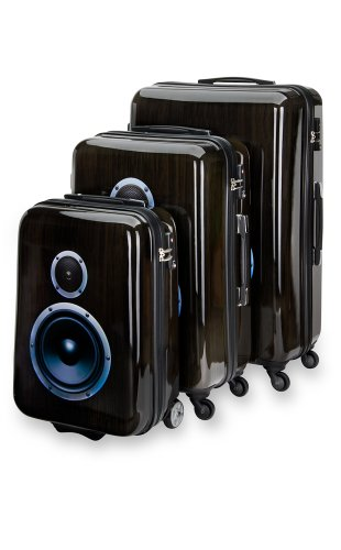 Trolley Koffer Set 3 tlg. – BOOMBOX – von SuitSuit