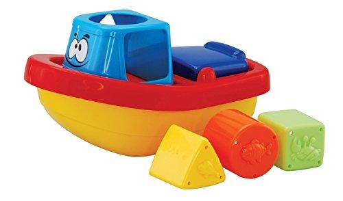 Navystar Sort'N Float Tug Boat Baby Toy
