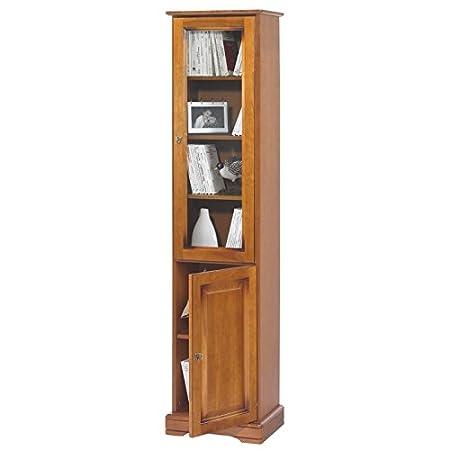 Actual diffusione 7102pv Alsazia Libreria con 2porte legno 33x 44,2x 182,2cm