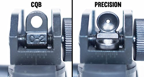 Details for 45 Degree Offset Backup Iron Sights By Ozark Armament for Ar15 Rifles Picatinny Mount from Ozark Armament