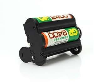 Pixtic - Pentax D-BH109 Tiroir Batterie AA Pour Pentax K-r, K-30, K-50 et K-500