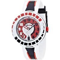 [フリック フラック]FLIK FLAK キッズ腕時計 FULL-SIZE(フルサイズ) ALL AROUND BLACK & RED(オール・アラウンド・ブラック・アンド・レッド) ZFCSP006 ボーイズ 【正規輸入品...