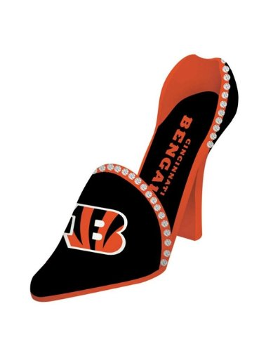 Cincinnati Bengals Decorative Wine Bottle Holder - Shoe