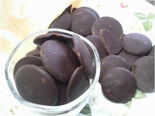 ベルギー産 クーベルチュールチョコレート Noir(ダーク)500g