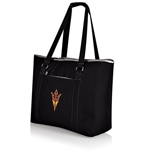NCAA Tahoe Extra Large Insulated Cooler Tote, Black