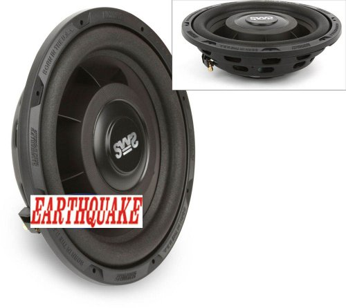 Earthquake Sws-12X Slim Fit 12 Inch Shallow 600 Watt Car Subwoofer