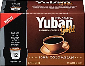 Yuban Coffee, Gold, 100% Colombian
