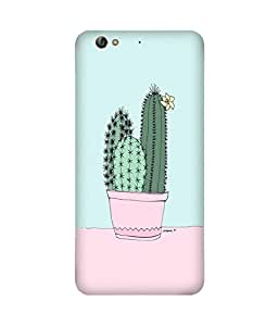 Cactus with Flower Gionee S6 Case