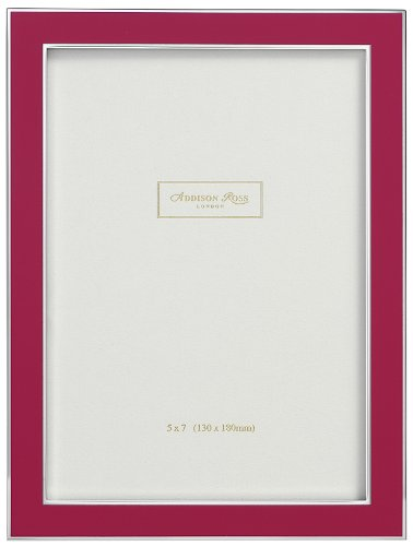addison-ross-contemporary-photo-frame-4x6-pink-enamel-4-x-6-inches