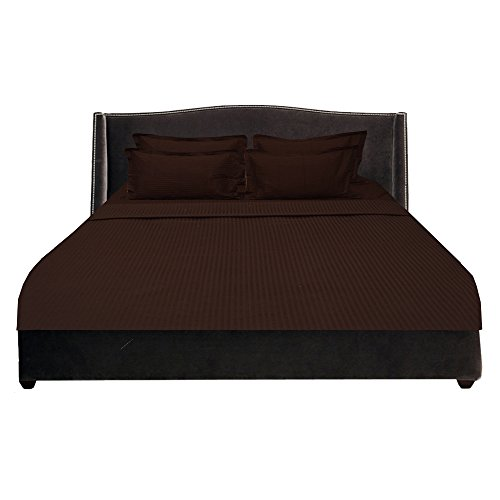 royallinens-biancheria-georgeous-6pcs-waterbed-sheet-set-tasca-a-righe-dimensioni-13-cotone-chocolat