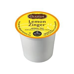 Celestial Seasonings Lemon Zinger K-Cup Herbal Tea from Green Mountain Coffee