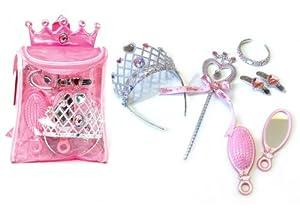 The Walt Disney Princess Back Pack, Pink (9 Pieces)