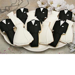 Amazon.com: Cookie Gallery Wedding Wardrobe Cookies Hand