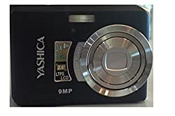 Yashica EZF9 Innovate Digital Zoom 9MP Camera With Video Recording 3x Zoom-Black