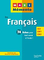 MAXI MEMENTO - Français CE2-CM1-CM2