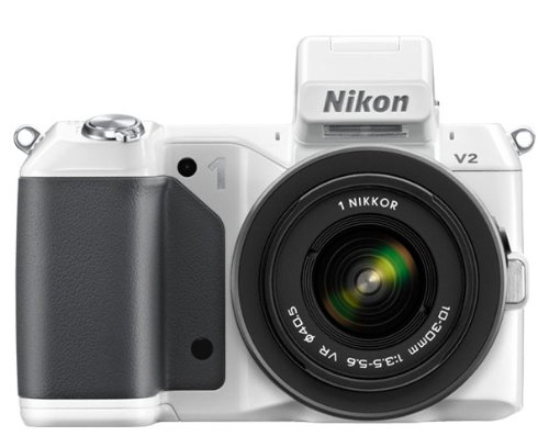 nikon-1-v2-compact-system-camera-with-10-30mm-lens-kit-white-142mp-3-inch-lcd