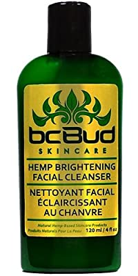 Cheapest Hemp Brightening Facial Cleanser -- Natural Gentle Moisturizing Facial Cleanser Cream for Dry, Combination, Oily Skin and Sensitive Skin, Cruelty Free, 120ml by Carapex - Free Shipping Available