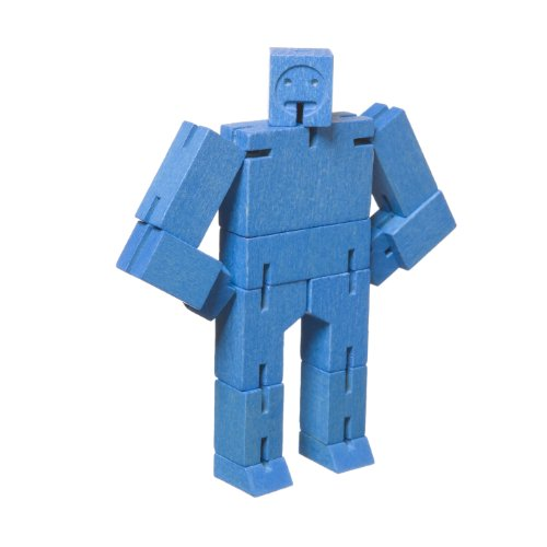 Micro Cubebot Brain Teaser Puzzle, Blue