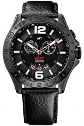 Tommy Hilfiger Chronograph Black Dial Mens Watch - TH1790972J