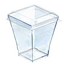PacknWood 209MBLTAIT Clear Plastic Lid For All Taiti Cups (3 Packs of 100)