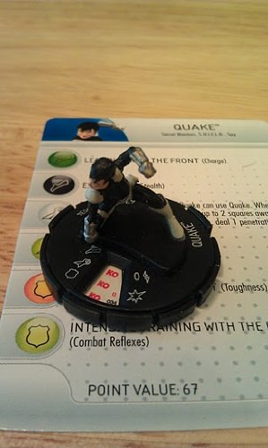 Marvel Heroclix Captain America Quake - 1