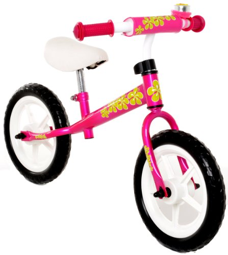 Vilano No Pedal Push Balance Bicycle for Children, Pink