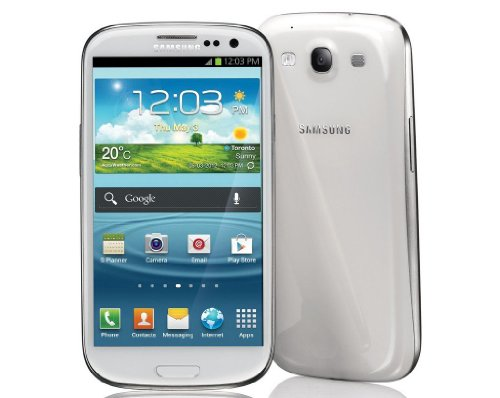 Samsung Galaxy S III/S3 GT-I9300 Factory Unlocked Phone – International Version (Ceramic White)