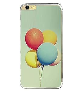 Balloons 2D Hard Polycarbonate Designer Back Case Cover for Apple iPhone 6