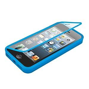 kwmobile® TPU Full Body Protection Schutzhülle für das Apple iPhone 5 / 5S in Hellblau Transparent - Echter Rundumschutz für Ihr Handy