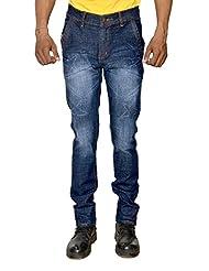 Karya Men Dark Blue Slim Fit High Fashion Jeans - B012XHHLFO